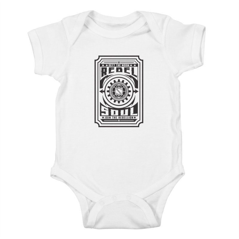 Defy the Norm - Black Kids Baby Bodysuit by rebelsoulstudio's Artist Shop