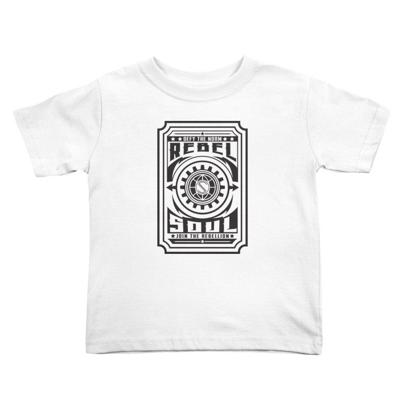 Defy the Norm - Black Kids Toddler T-Shirt by rebelsoulstudio's Artist Shop