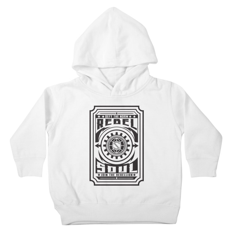 Defy the Norm - Black Kids Toddler Pullover Hoody by rebelsoulstudio's Artist Shop