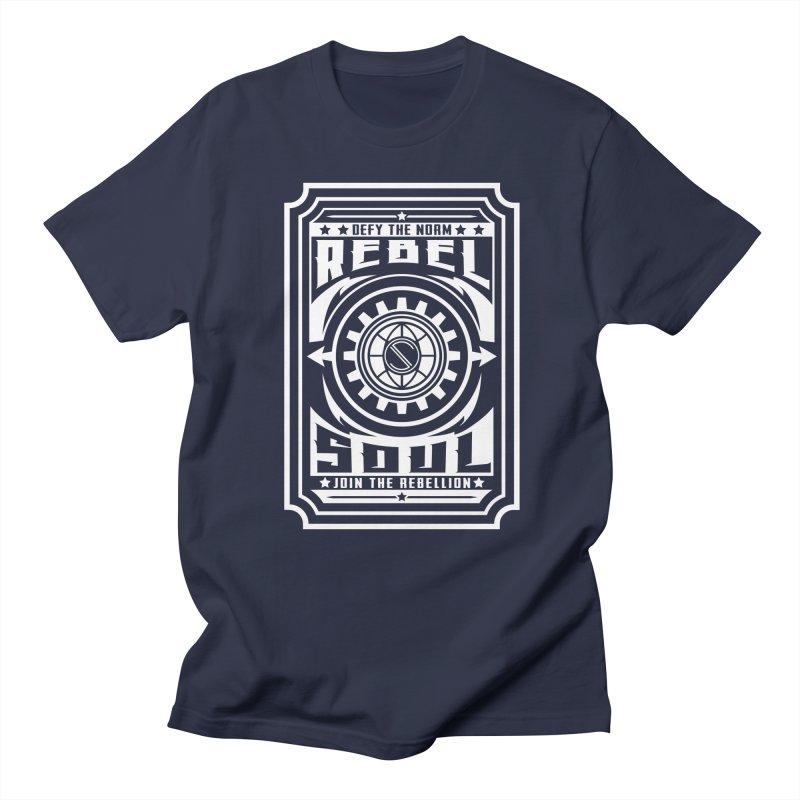 Defy the Norm - White Women's Regular Unisex T-Shirt by rebelsoulstudio's Artist Shop