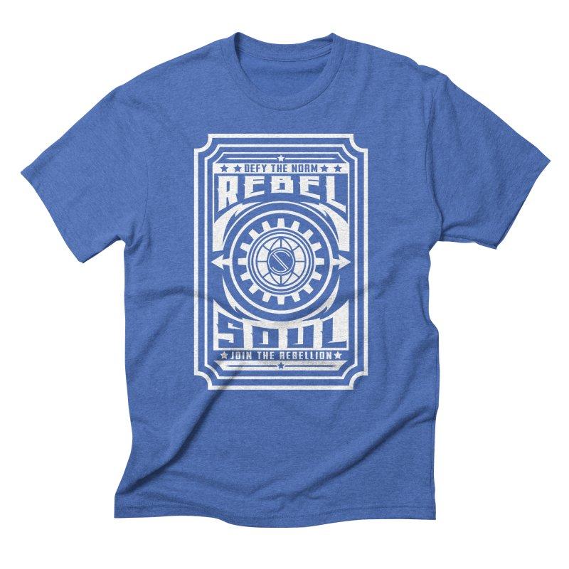 Defy the Norm - White Men's Triblend T-Shirt by rebelsoulstudio's Artist Shop
