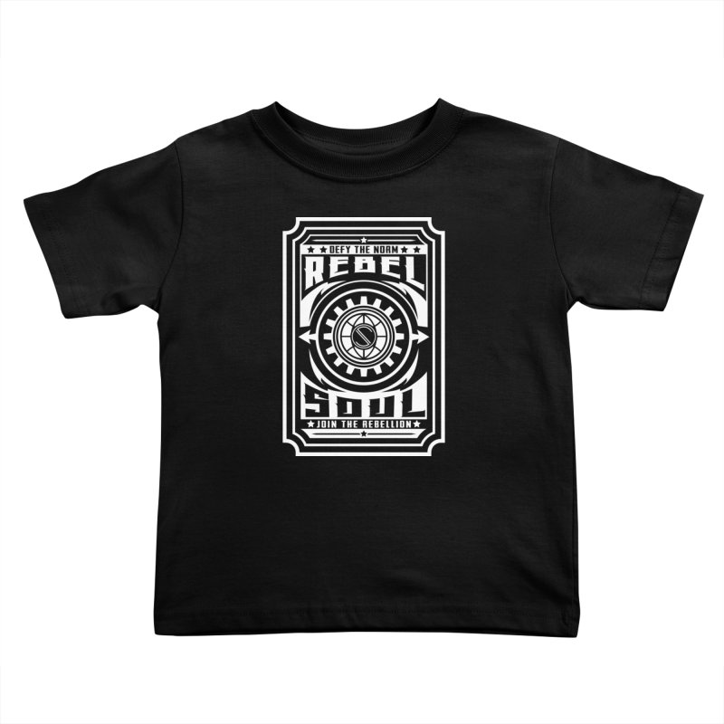 Defy the Norm - White Kids Toddler T-Shirt by rebelsoulstudio's Artist Shop