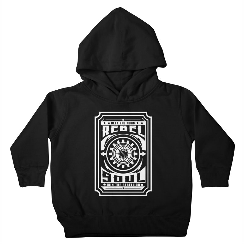Defy the Norm - White Kids Toddler Pullover Hoody by rebelsoulstudio's Artist Shop