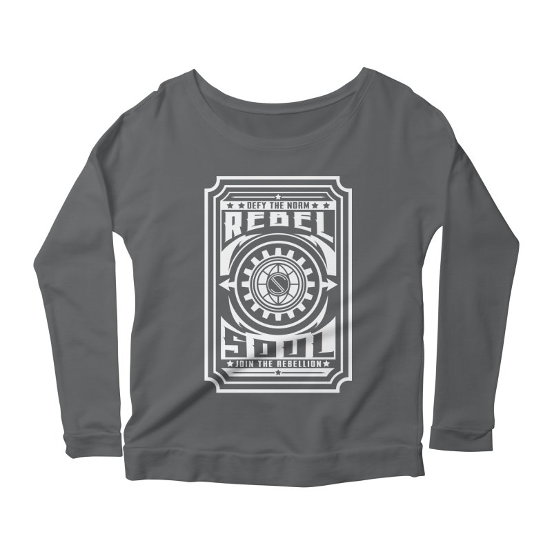 Defy the Norm - White Women's Longsleeve T-Shirt by rebelsoulstudio's Artist Shop