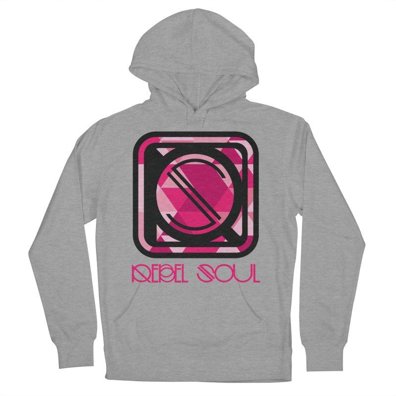 Women's Geometric Logo Apparel Women's Pullover Hoody by rebelsoulstudio's Artist Shop