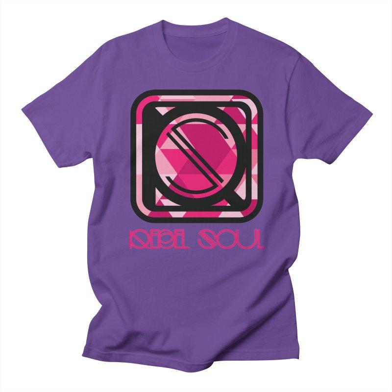 Women's Geometric Logo Apparel Women's Regular Unisex T-Shirt by rebelsoulstudio's Artist Shop