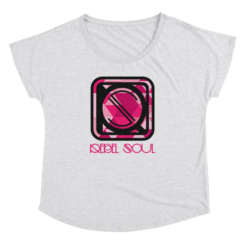 Women's Geometric Logo Apparel Women's Dolman Scoop Neck by rebelsoulstudio's Artist Shop