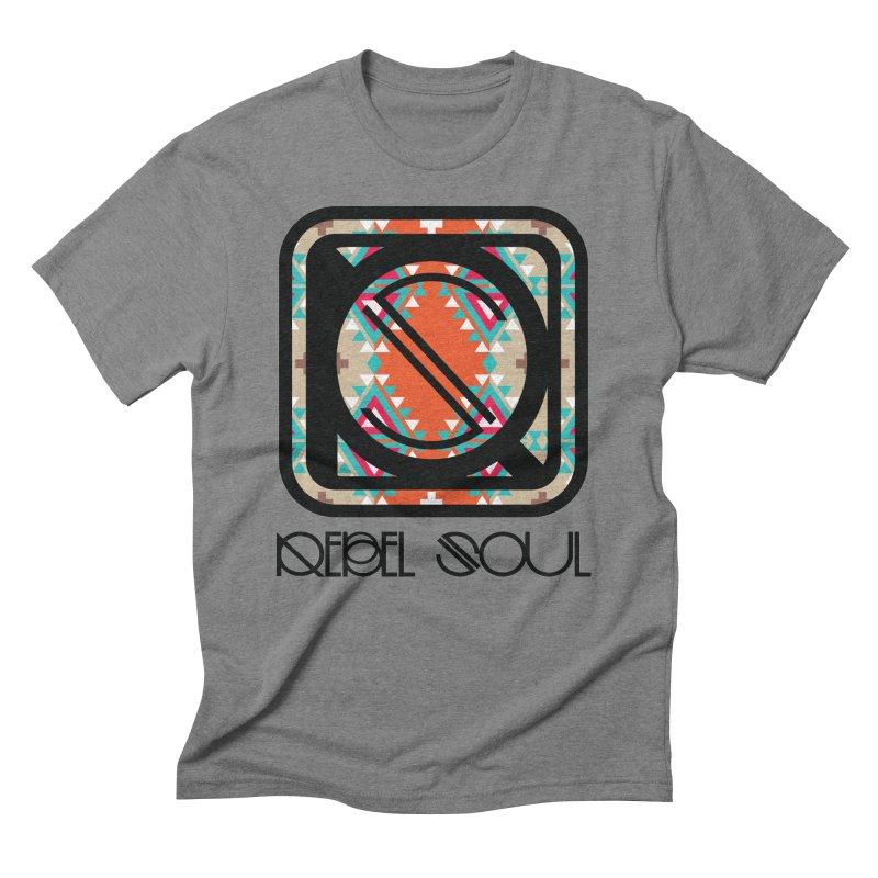 Men's Journey West Icon Men's Triblend T-Shirt by rebelsoulstudio's Artist Shop
