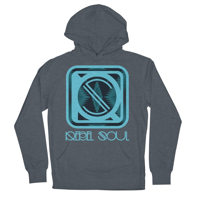 Men's Glacier Plains Icon Men's French Terry Pullover Hoody by rebelsoulstudio's Artist Shop