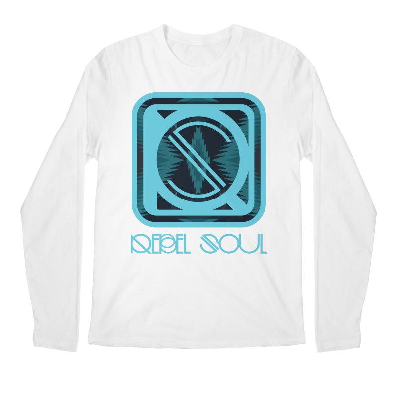 Men's Glacier Plains Icon Men's Regular Longsleeve T-Shirt by rebelsoulstudio's Artist Shop