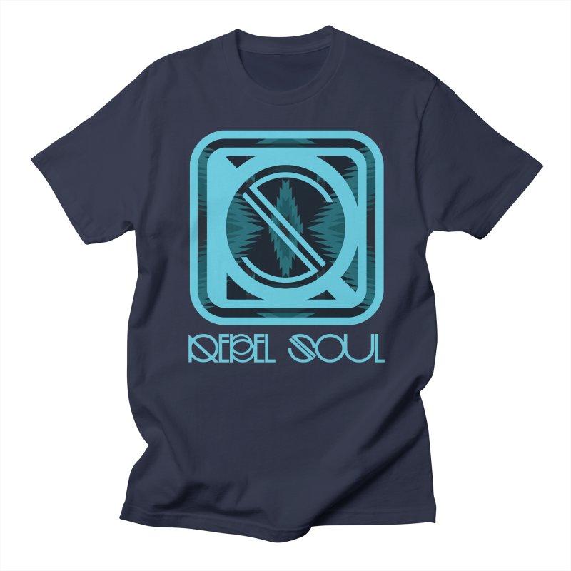 Men's Glacier Plains Icon Men's Regular T-Shirt by rebelsoulstudio's Artist Shop