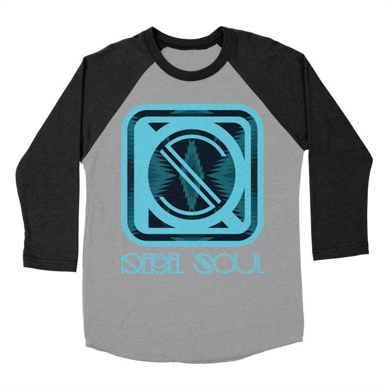 Men's Glacier Plains Icon Men's Baseball Triblend Longsleeve T-Shirt by rebelsoulstudio's Artist Shop
