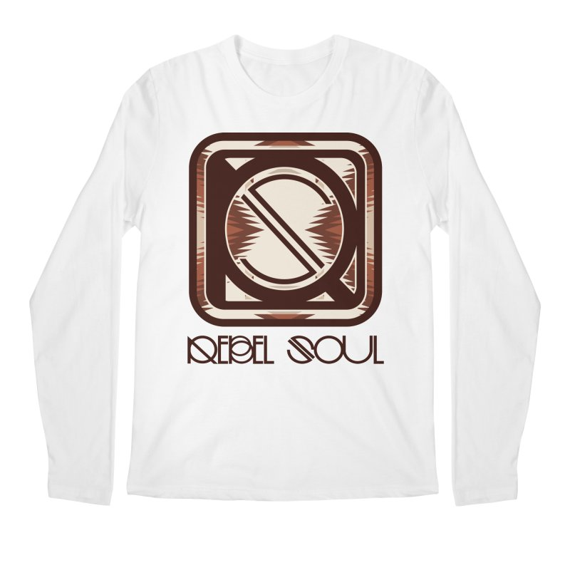 Desert Diamond Geometric Icon Men's Regular Longsleeve T-Shirt by rebelsoulstudio's Artist Shop