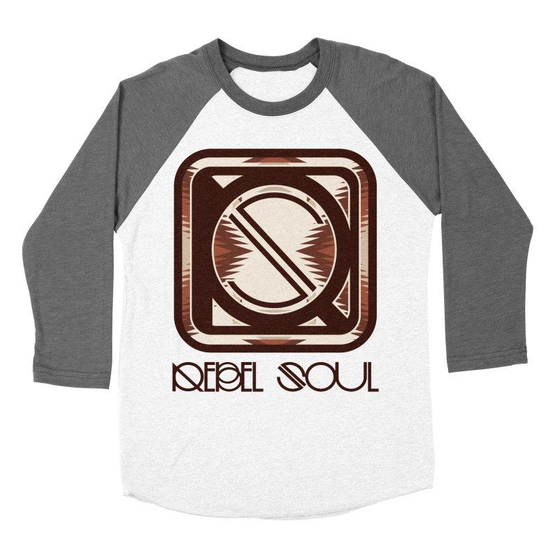 Desert Diamond Geometric Icon Men's Baseball Triblend Longsleeve T-Shirt by rebelsoulstudio's Artist Shop