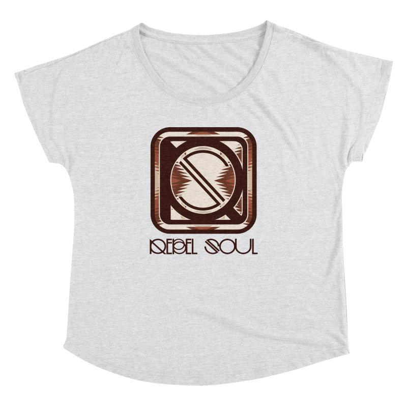 Desert Diamond Geometric Icon Women's Dolman Scoop Neck by rebelsoulstudio's Artist Shop
