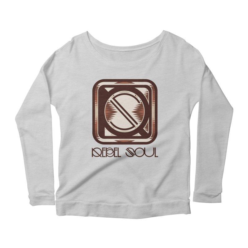 Desert Diamond Geometric Icon Women's Longsleeve T-Shirt by rebelsoulstudio's Artist Shop