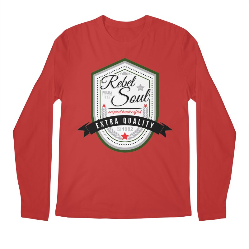 Craft Brew (Alternate) Men's Regular Longsleeve T-Shirt by rebelsoulstudio's Artist Shop