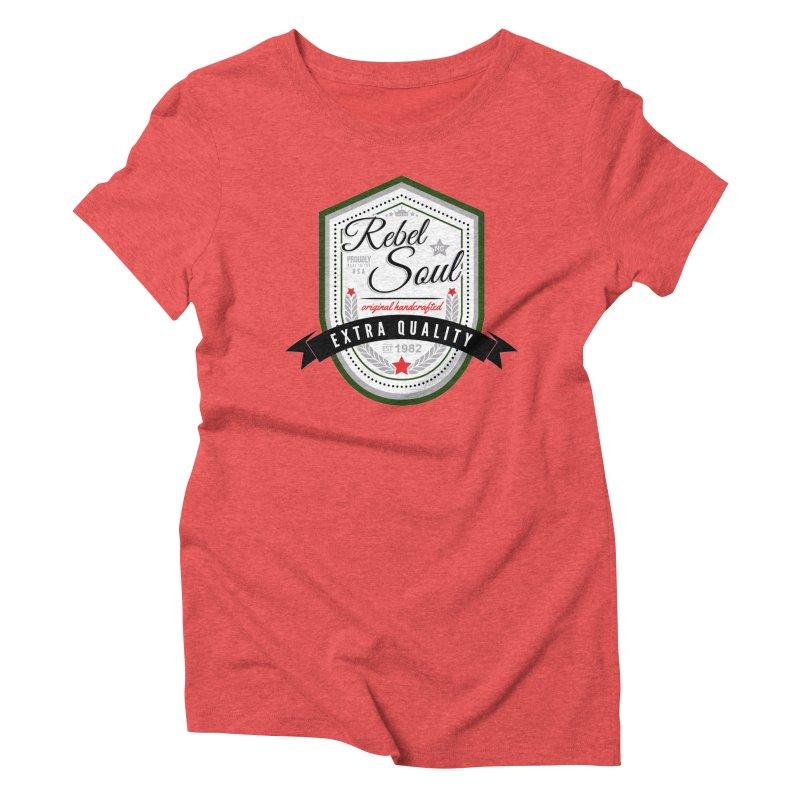 Craft Brew (Alternate) Women's Triblend T-Shirt by rebelsoulstudio's Artist Shop