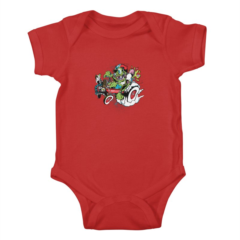 Mother's Worry Kids Baby Bodysuit by rebelsoulstudio's Artist Shop