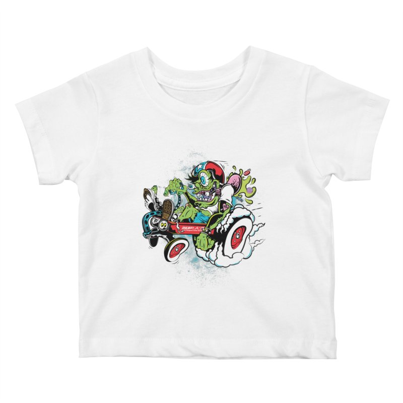 Mother's Worry Kids Baby T-Shirt by rebelsoulstudio's Artist Shop