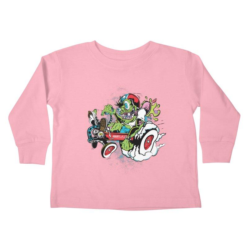 Mother's Worry Kids Toddler Longsleeve T-Shirt by rebelsoulstudio's Artist Shop