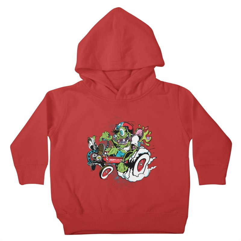 Mother's Worry Kids Toddler Pullover Hoody by rebelsoulstudio's Artist Shop