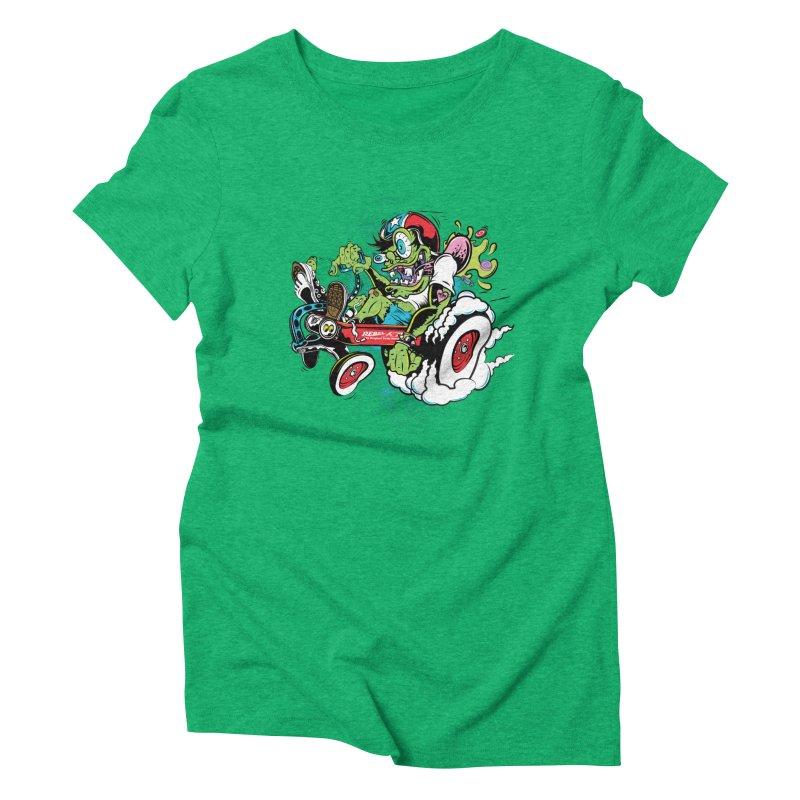Mother's Worry Women's Triblend T-Shirt by rebelsoulstudio's Artist Shop