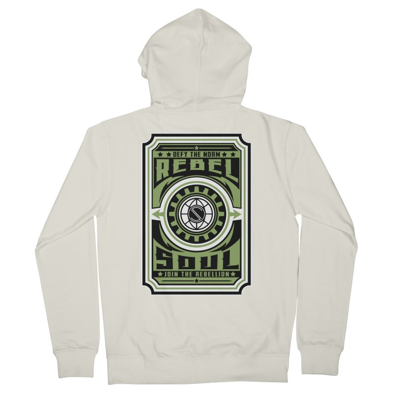 Defy the Norm  Women's French Terry Zip-Up Hoody by rebelsoulstudio's Artist Shop