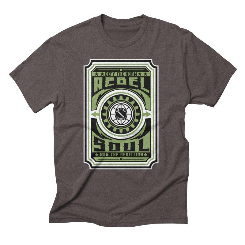 Defy the Norm  Men's Triblend T-Shirt by rebelsoulstudio's Artist Shop