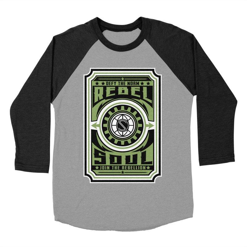Defy the Norm  Women's Baseball Triblend Longsleeve T-Shirt by rebelsoulstudio's Artist Shop