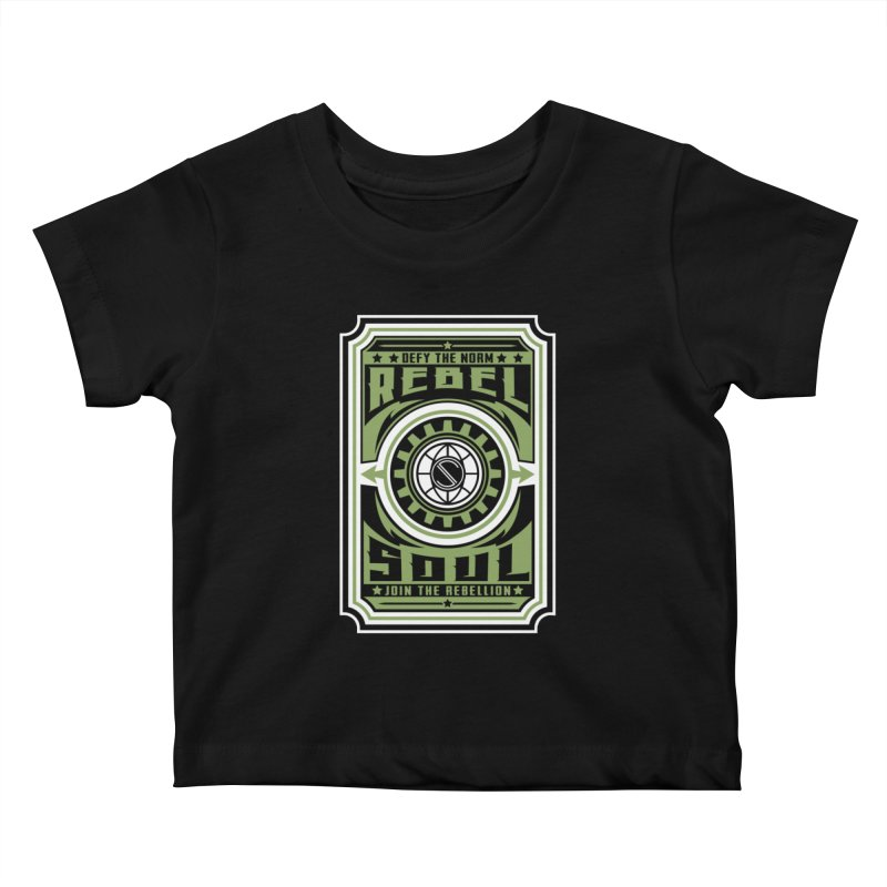 Defy the Norm  Kids Baby T-Shirt by rebelsoulstudio's Artist Shop