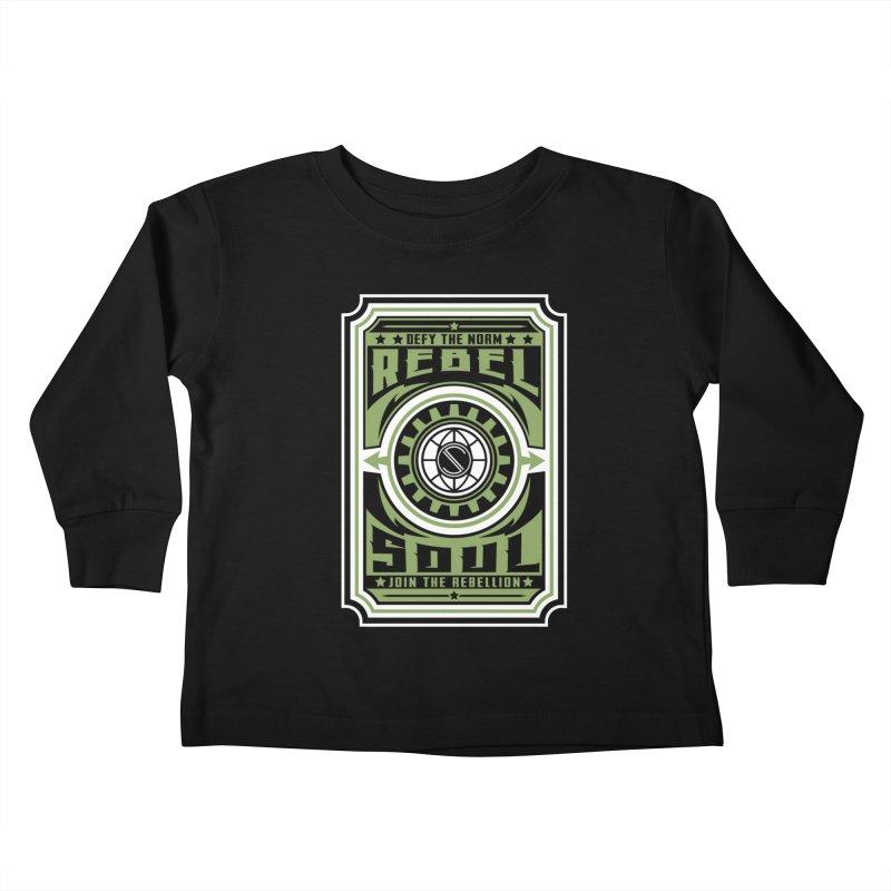 Defy the Norm  Kids Toddler Longsleeve T-Shirt by rebelsoulstudio's Artist Shop