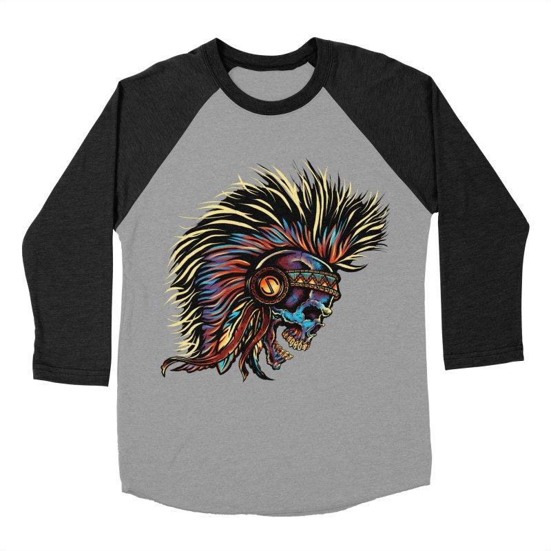 War Paint Women's Baseball Triblend Longsleeve T-Shirt by rebelsoulstudio's Artist Shop