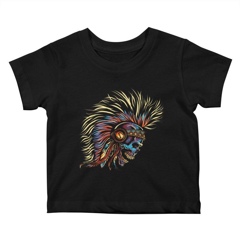 War Paint Kids Baby T-Shirt by rebelsoulstudio's Artist Shop