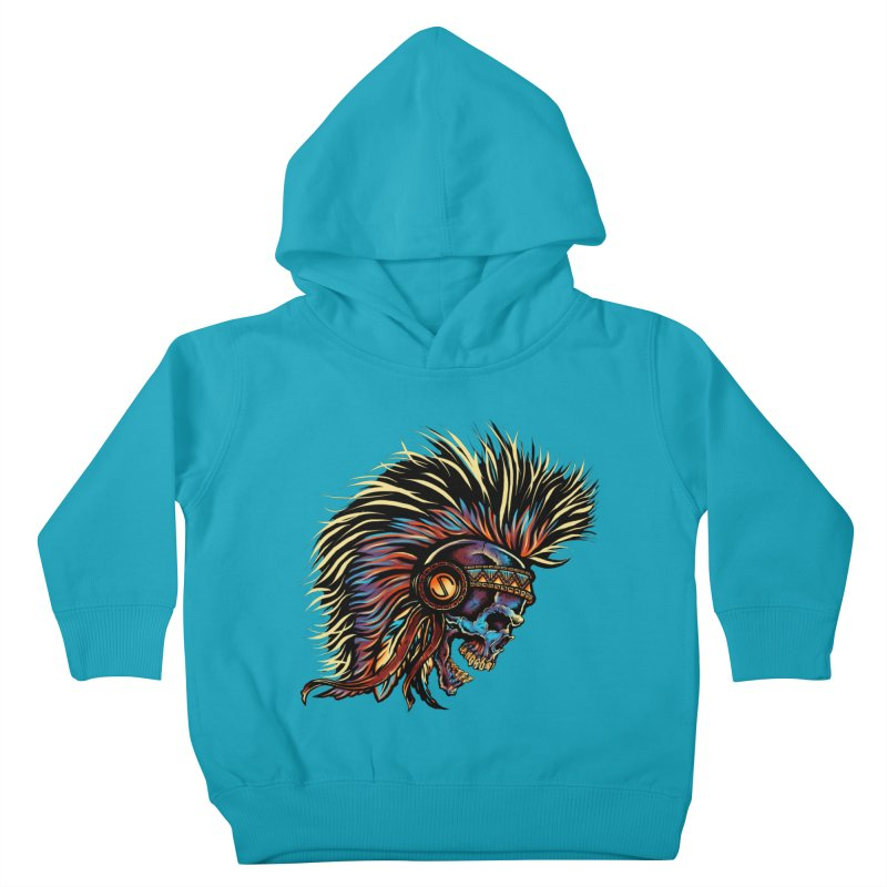 War Paint Kids Toddler Pullover Hoody by rebelsoulstudio's Artist Shop