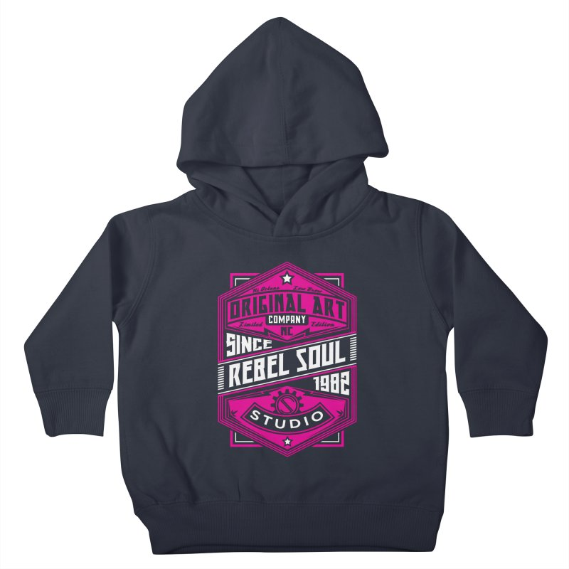 Womens Standard Issue Label (Two Color ) Kids Toddler Pullover Hoody by rebelsoulstudio's Artist Shop