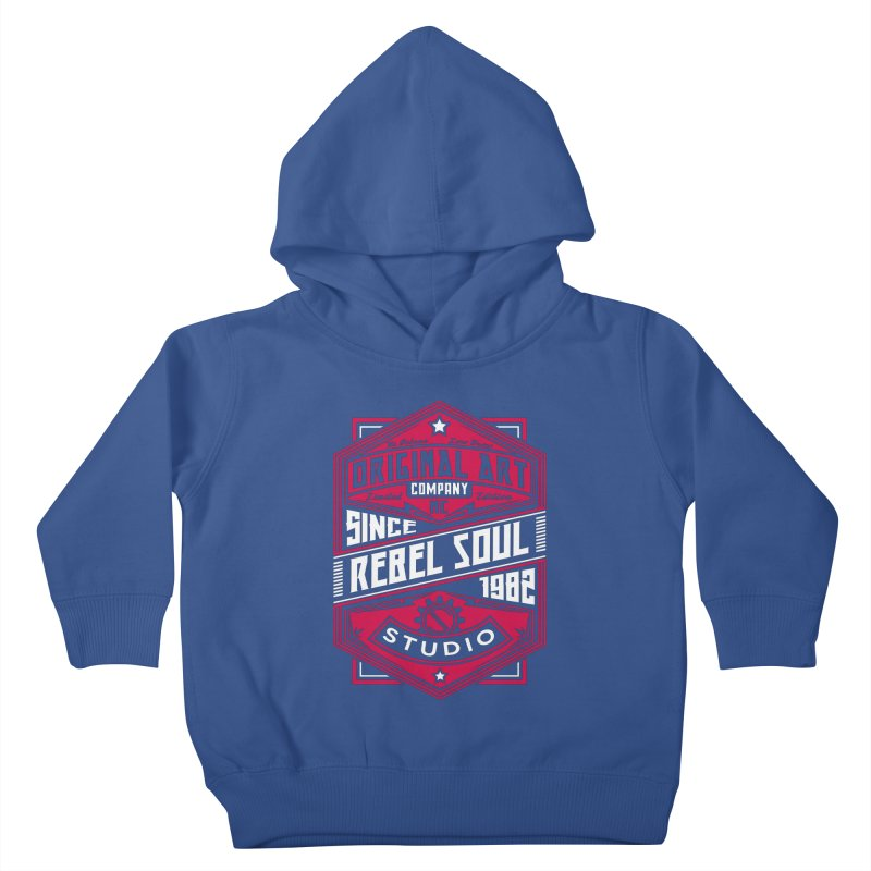 Mens Standard Issue Label (Two Color) Kids Toddler Pullover Hoody by rebelsoulstudio's Artist Shop