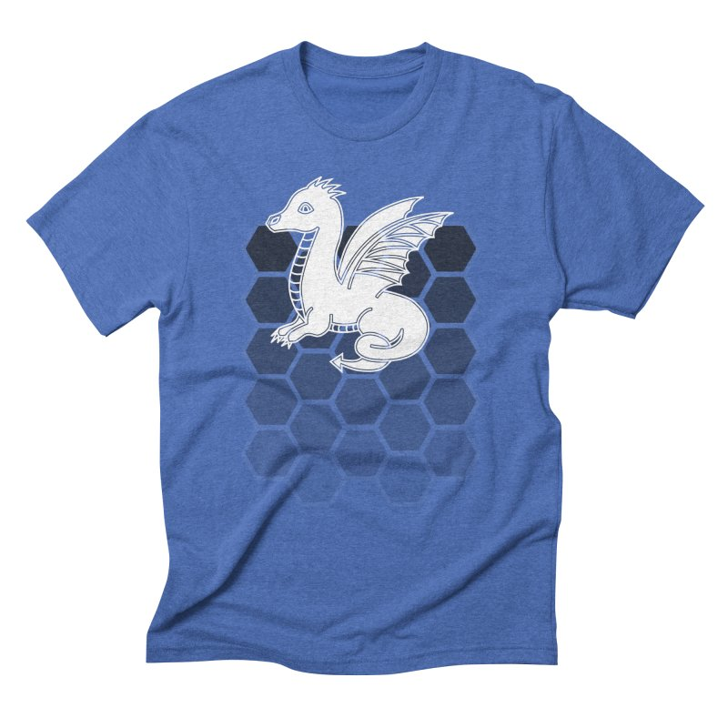 Into The Dragons Den / Dragon (B&W) Men's T-Shirt by The RECEPTORCELL Shop