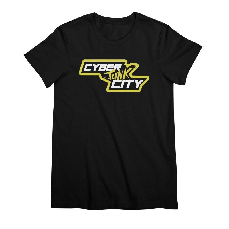CyberJunk City Logo Shirt Women's T-Shirt by Rec Room Official Gear