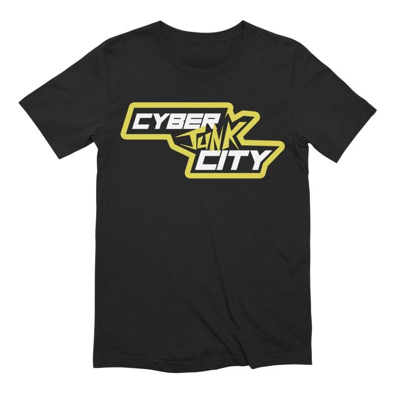CyberJunk City Logo Shirt Men's T-Shirt by Rec Room Official Gear
