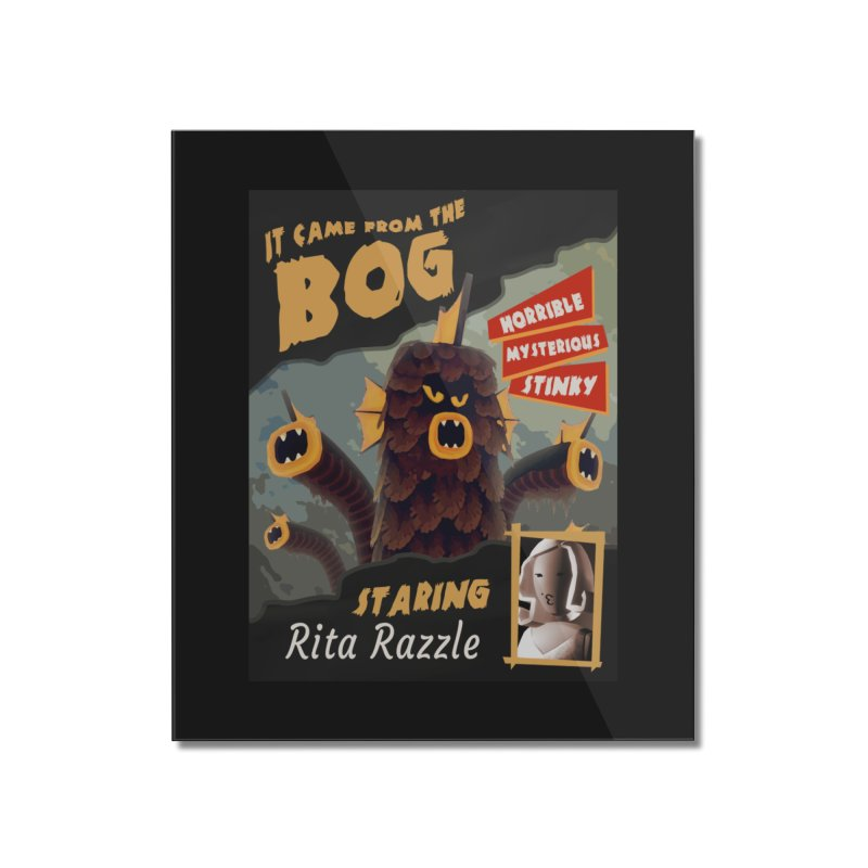 Monster Movie poster Home Mounted Acrylic Print by Rec Room Official Gear