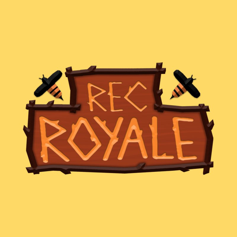 Rec Royale logo Men's T-Shirt by Rec Room Official Gear