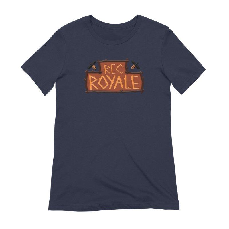 Rec Royale logo Women's T-Shirt by Rec Room Official Gear