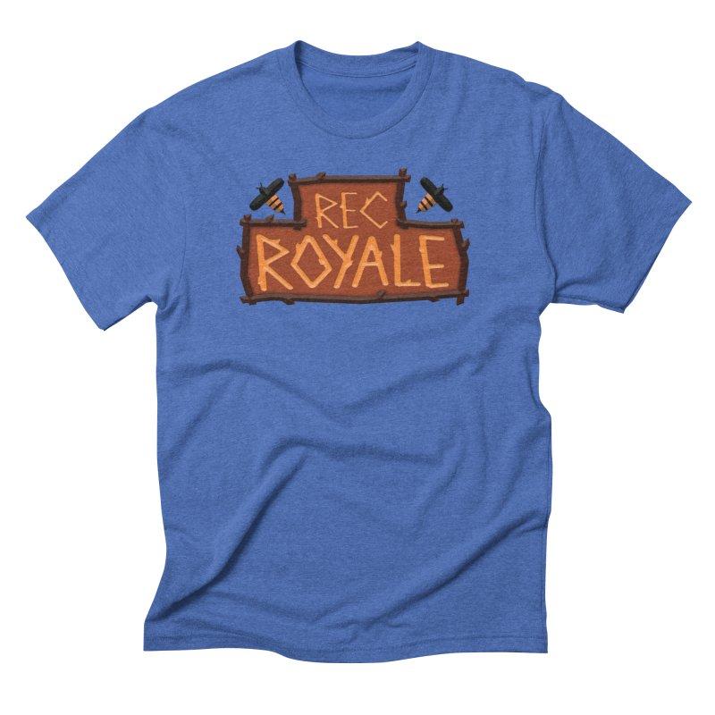 Rec Royale logo Men's T-Shirt by Rec Room Official Gear