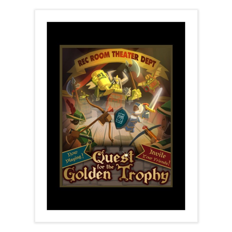 Quest Poster Home Fine Art Print by Rec Room Official Gear