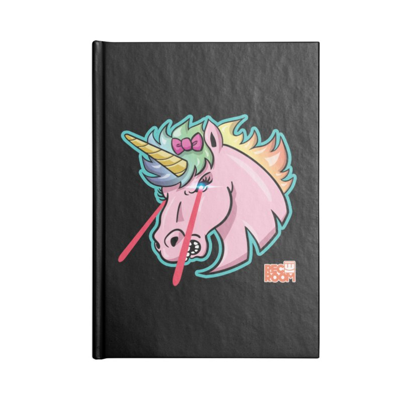 Rec Room Sasha the Lasercorn Accessories Lined Journal Notebook by Rec Room Official Gear