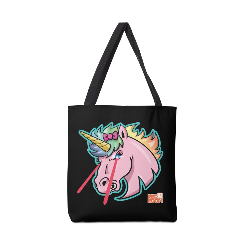 Rec Room Sasha the Lasercorn Accessories Tote Bag Bag by Rec Room Official Gear