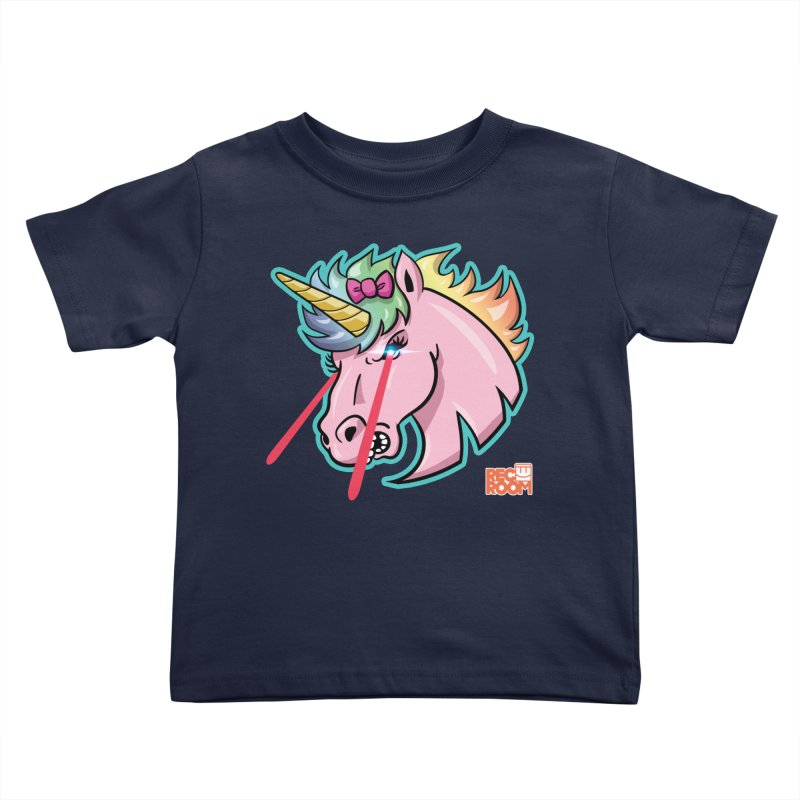 Rec Room Sasha the Lasercorn Kids Toddler T-Shirt by Rec Room Official Gear