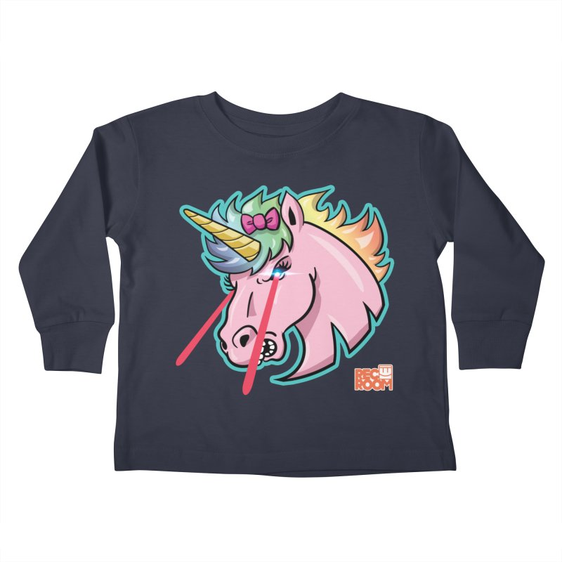 Rec Room Sasha the Lasercorn Kids Toddler Longsleeve T-Shirt by Rec Room Official Gear