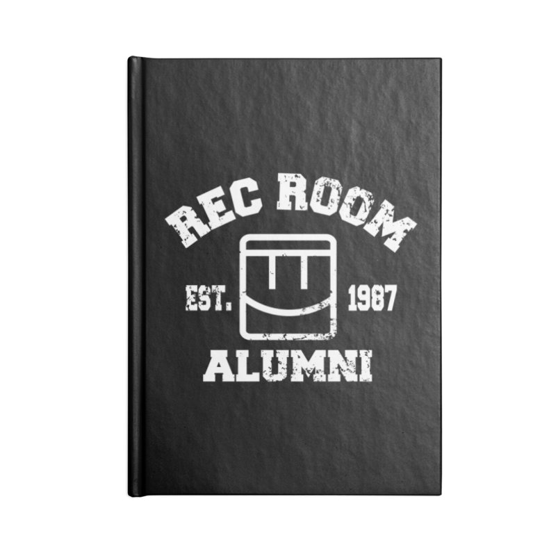 Rec Room Alumni Accessories Lined Journal Notebook by Rec Room Official Gear